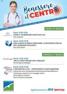 Il Gabbiano_Benessere al Centro_programma 26-27 maggio
