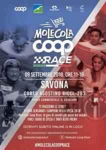 Molecola Coop Race Gabbiano Savona_9 settembre 2018