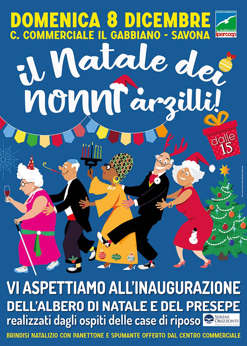 08 dicembre Il Natale dei nonni arzilli!